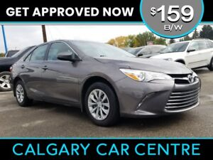 2017 Camry $159B/W TEXT US FOR EASY FINANCING! 587-582-2859