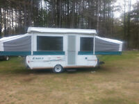 TWO TENT TRAILERS FOR SALE 2005 & 1995 COME SEE !!!!