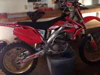 Mint mint cr250f with tons of upgrades one of a kind