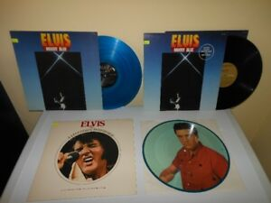 Prix Revisé: COLLECTION ELVIS Disques vinyles - Vinyl LP records