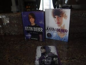Justin Bieber DVD and 2 books