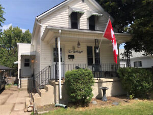 COME TAKE A LOOK AT THIS TURN-KEY, 1.5 STOREY HOME