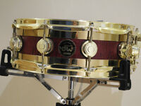 DW Collectors Series Edge Snare with Brass Hardware