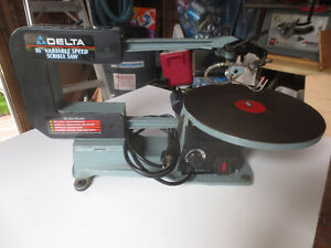 """Delta 16"""" variable speed scroll saw"""