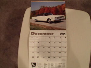 New 2004 MUSCLE THUNDER CAR CALENDAR. Sarnia Sarnia Area image 8