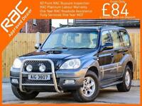 2005 Hyundai Terracan 2.9 CRTD Turbo Diesel CDX 5 Speed 4x4 4WD Front A-Bar Clim