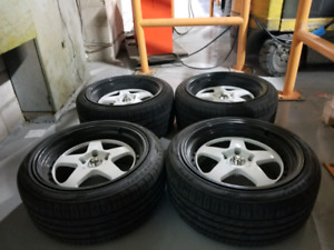 18 inch rims with new tires