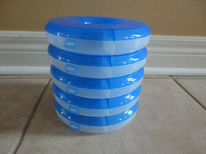 Set of 5 stackable storage containers for beads, charms, etc London Ontario image 3