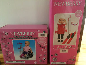 Newberry Madison Doll and wheelchair