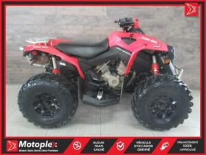 2017 Can-Am Renegade 1000 41,77$/SEMAINE