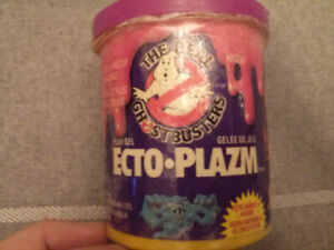 Kenner The Real Ghostbusters Ecto Plazm (still has some in