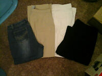 $10 for 4 Pairs of Pants/Capris
