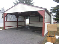 OPEN HOUSE MOBILE HOME W/ CARPORT IN PARKRIDGE ESTATES