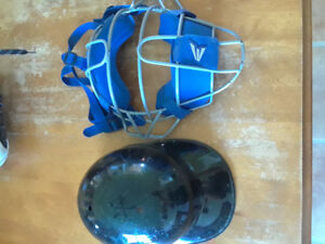Catchers cap and mask