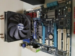 CPU, MOBO, RAM, and PSU