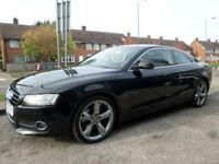 2007 Audi A5 3.0TDI ( DPF ) Quattro Sport 2DR 57 REG Diesel Black