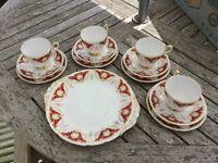Vintage tea set Paragon Florence