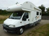 SOL D Benimar Anthus 6000ST – Rear U Shaped Lounge – 6 Berth Motorhome