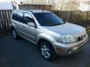 06 Nissan X-trail needs to go.