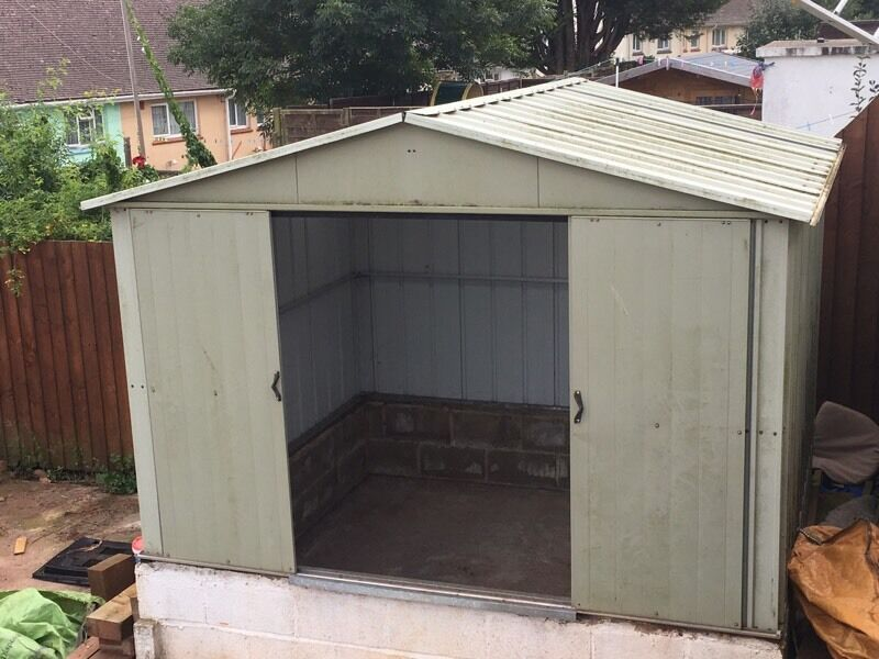 Large Metal Shed