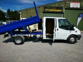 2013 Ford Transit 350 C/C UTILITY TIPPER 1 OWNER FROM NEW AWAITING VALET/PREPERA