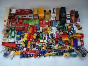 Car and truck toy lot. 110 pieces
