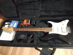 Kit guitare, case, ampli etc...