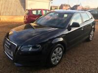 2009 Audi A3 1.9TD ( 105ps ) Sportback Full Mot 5 Service stamps 1 Keeper