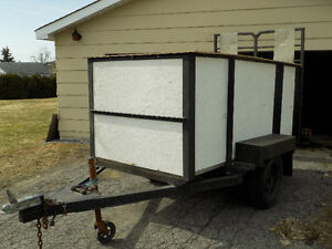 Solid UtilityTrailer in Great Condition. Last Chance.