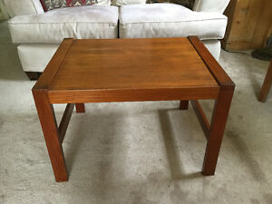 Mid Century Teak Coffee or Side Table made in Denmark