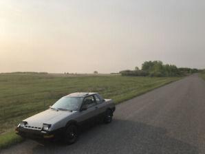 1986 Nissan Pulsar 1.6L 5MT