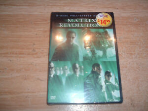 MATRIX REVOLUTIONS DVD (NEW AND SEALED) USED DVD LOT AS WELL