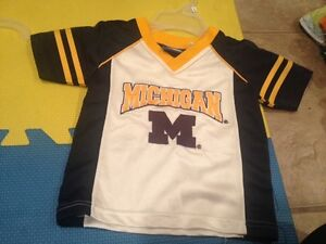 18 month Michigan jersey