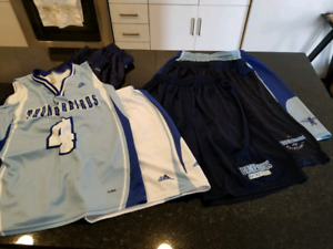 B-ball Shorts & Jersey bundle $30 - 14 items