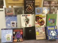 Computer games, a selection of mid 1990's computer game £50 the lot.