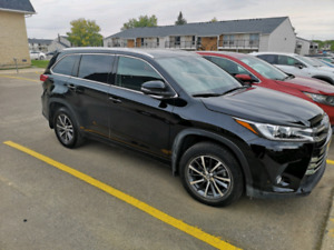 2017 highlander xle for sale