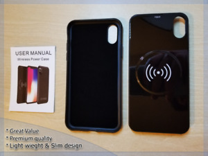 iPhone X Battery Case Qi Wireless Charging Powerbank 5000mAh