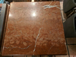 Red Stone Table Tops