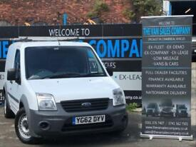 2012 62 FORD TRANSIT CONNECT 1.8 TDCI T220 LR 5D 75 BHP PANEL VAN DIESEL