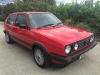 1989 VW GOLF GTI MK2 HISTORY MOT LOW MILES FINANCE AVAILABLE