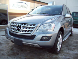 2010 MERCEDES BENZ ML350 4MATIC V6 with only 121450miles! MINT!