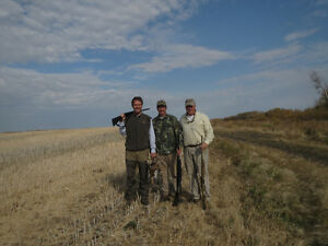 WANTED: Hunters Need Cabin or Housing Near Rosthern Oct 2016