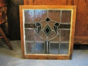 old stain glass window