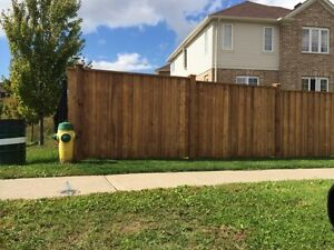 Post Hole Digging in the Area.  Fences built or Deck Footings Cambridge Kitchener Area image 7