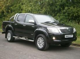 2013(63) Toyota Hi-Lux 3.0 D-4D Invincible 4x4 DOUBLE CAB PICK UP, FINANCE??