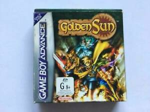 Gameboy Advance: Golden Sun (CIB)