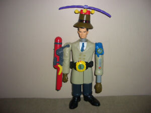 Vintage McDonalds Inspector Gadget Figures + Extras  -  REDUCED