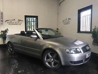 Audi A4 Cabriolet 1.8T 2005MY Sport with leather reduced bargain
