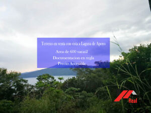 sale of lots and land in Masaya