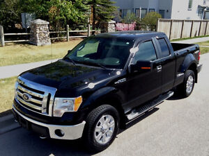 2009 Ford F-150 XLT SuperCab 4x4, 84,500km, $19,500
